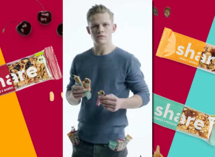 Stars wie Max von der Groeben machen Werbung für Sharefoods