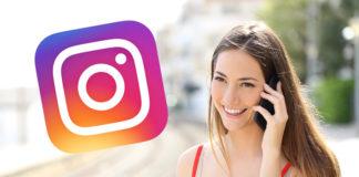 Telefonieren mit Instagram