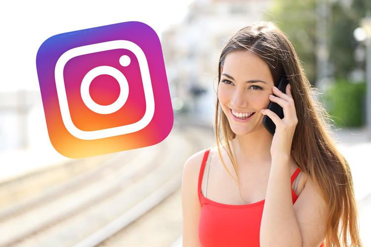 Instagram Telefonieren