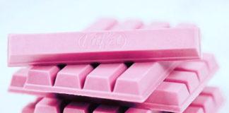 KitKat Ruby ist aus rosa Schokolade