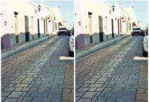 Diese Straße ist eine optische Täuschung