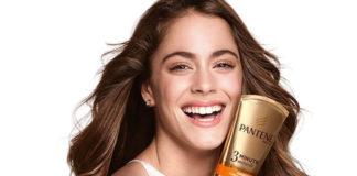 Tini Stoessel macht Werbung für Pantene Pro-V