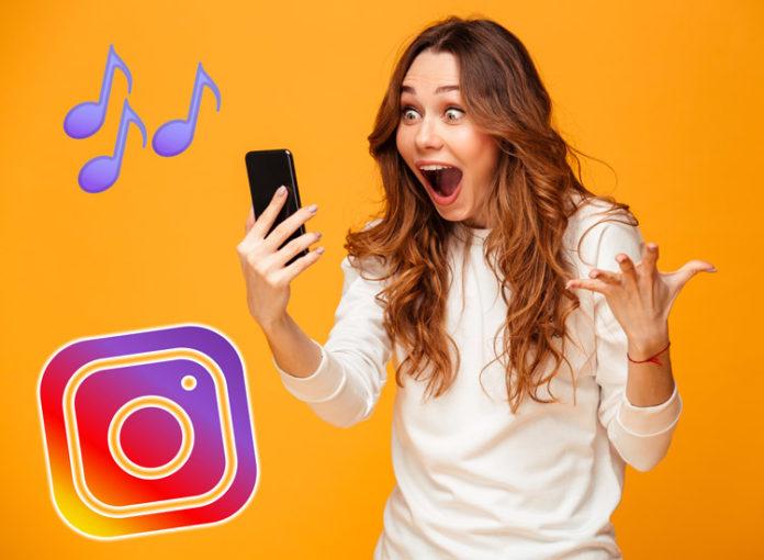 Auf Instagram gibts jetzt Musik
