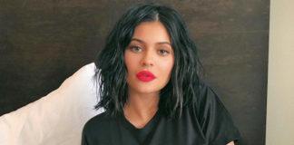 Kylie Jenner ohne Brille