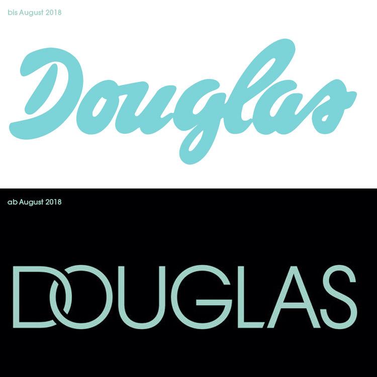 Neues Douglas Logo 2018