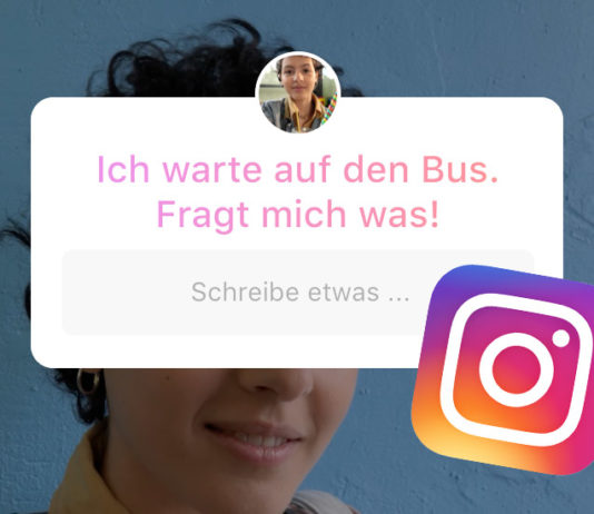 Fragen in Instagram Stories