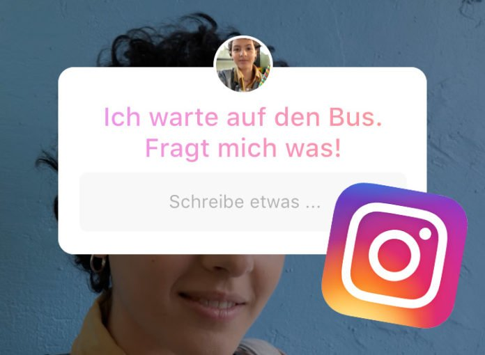 Fragen in Instagram Stories