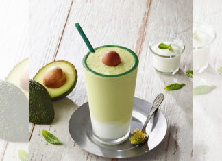 Avocado Frappuchino Starbucks