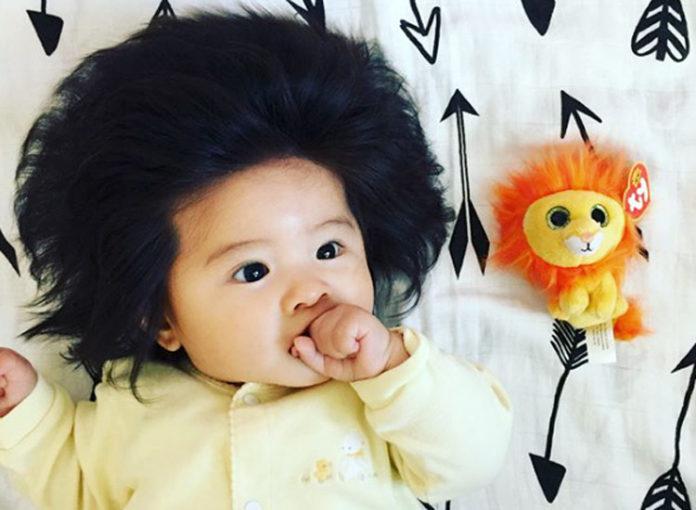Baby Chanco wurde wegen ihrer Haare zum Instagram-Star!