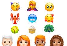 Neue Emojis 2018