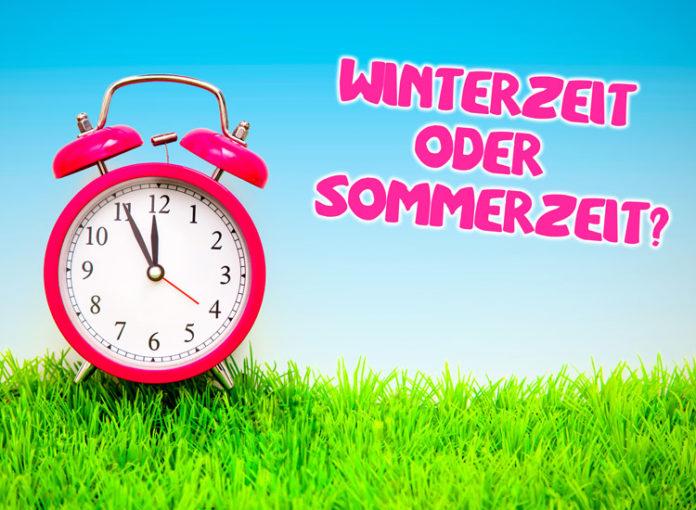 Zeitumstellung: Word die Winterzeit oder die Sommerzeit die neue Zeit?