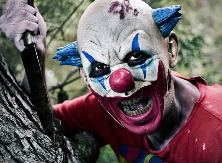 horror clown säuberung