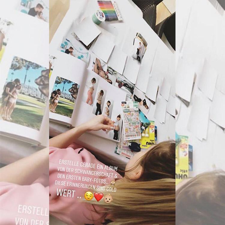 Bibis Beauty Palace bastelt ein Fotoalbum