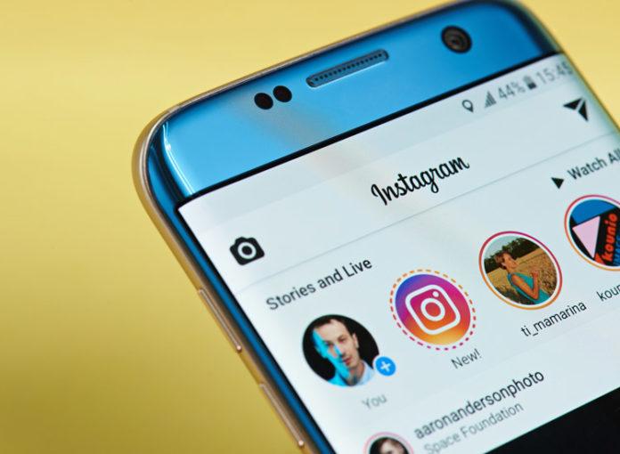 Instagram Passwort wird angezeigt