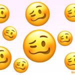 Dieser neue Emoji ist betrunken
