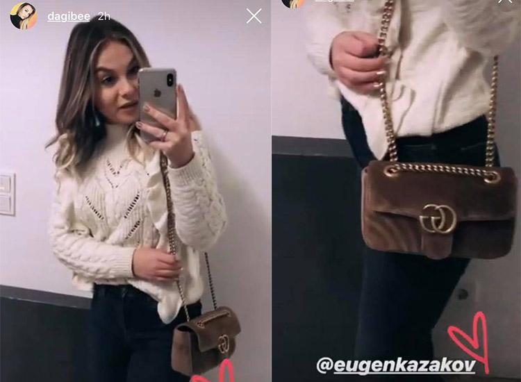 Dagi Bee und ihre neue Gucci TascheDagi Bee und ihre neue Gucci Tasche