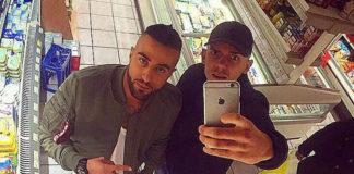 Capital Bra (r.) und King Khalil sind wieder Freunde.