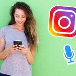 Bei Instagram kann man jetzt Sprachnotizen verschicken!