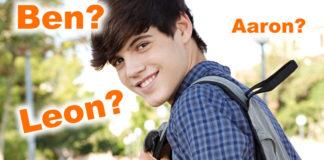 Test: Wie würdest du als Junge heißen?