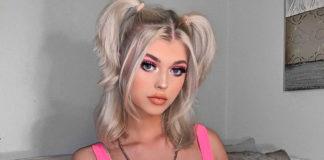 Tik Tok-Star Loren Gray blond
