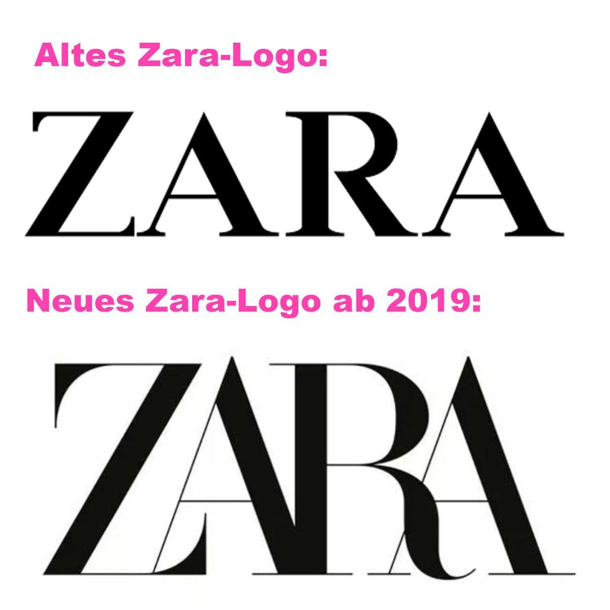 Neues Zara Logo 2019