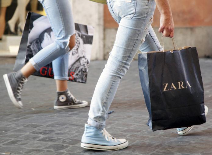Das alte Zara Logo