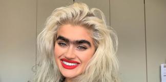 Instagram-Model Sophia Hadjipanteli bekommt wegen Monobraue Morddrohungen