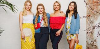 Die Influencer DominoKati, Patrizia Palme, Shanti Joan Tan und Valentina Pahde bringen eine Esmara-Kollektion bei Lidl raus