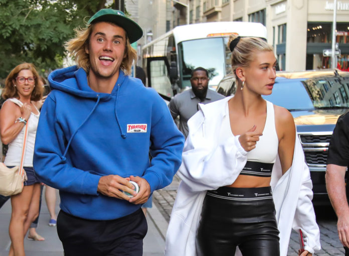 Justin Bieber Ehefrau Hailey Bieber New York