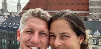 Bastian Schweinsteiger Ana Ivanovic Baby schwanger münchen selfie