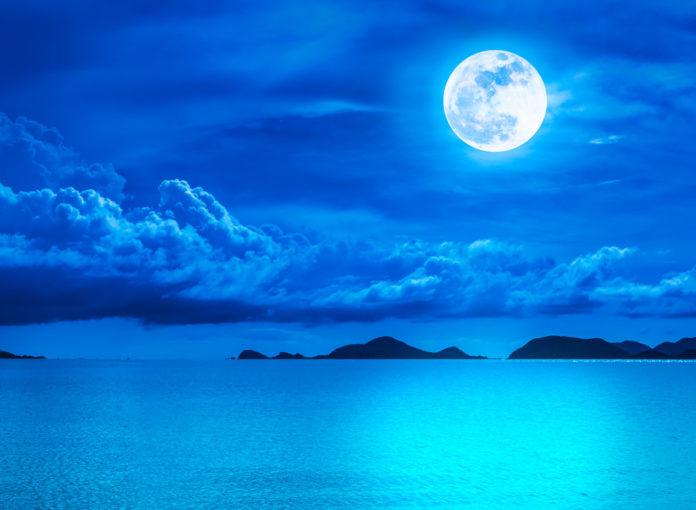 Blue Moon: Der Vollmond ist heute ein blauer Mond