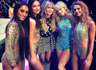 GNTM 2019 Finale Taylor Swift Simone Heidi Klum Cäcilia, Sayana