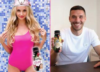 Rewe Smoothie Challenge mit Xlaeta und Lukas Podolski
