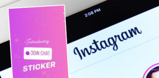 Instagram Chat Sticker