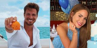 Angelina Heger und Sebastian Pannek