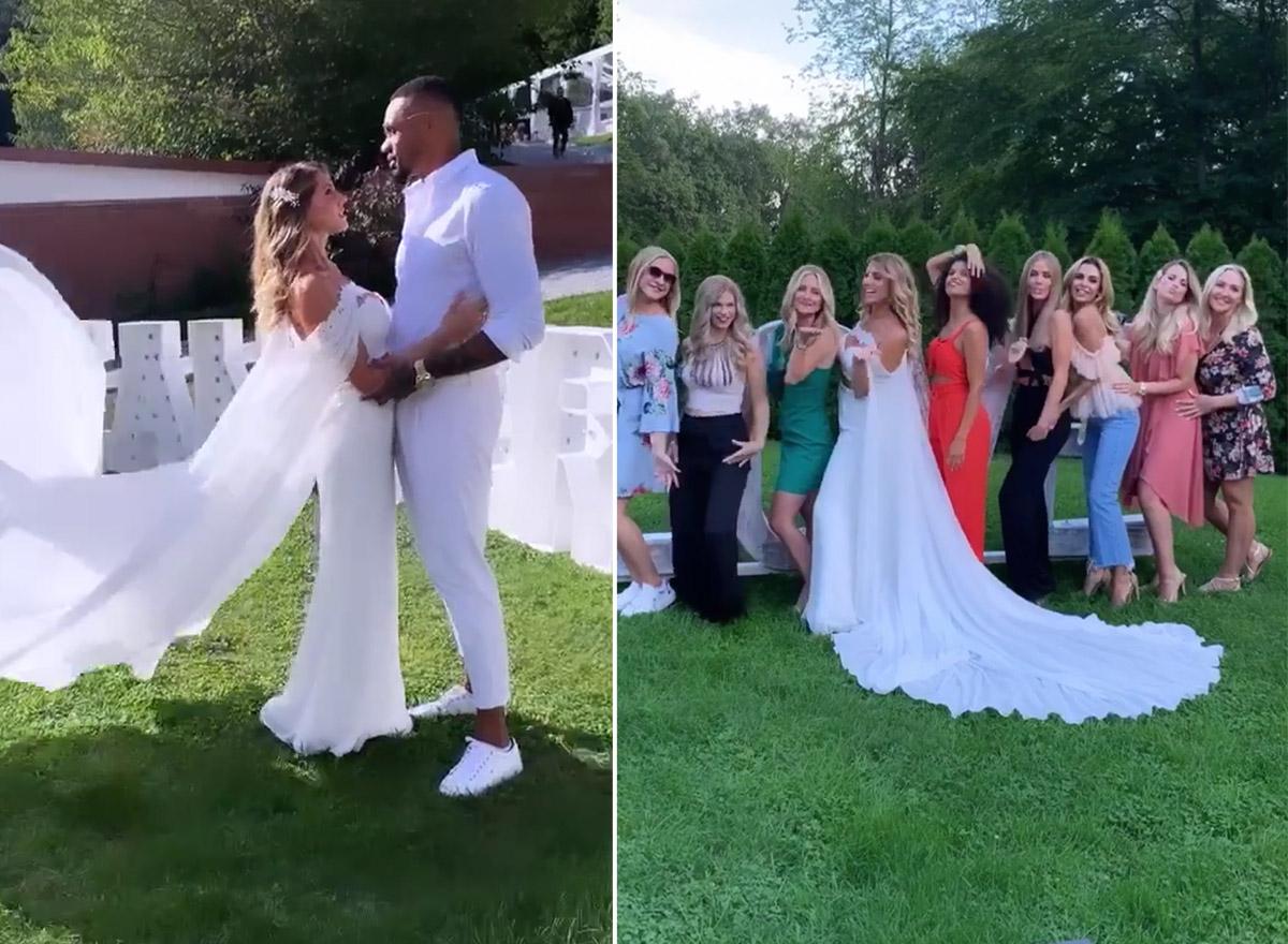 Sarah Harrison Hochzeit