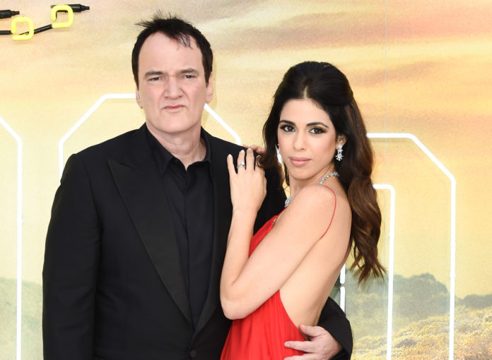 Quentin Tarantino und Danielle Pick