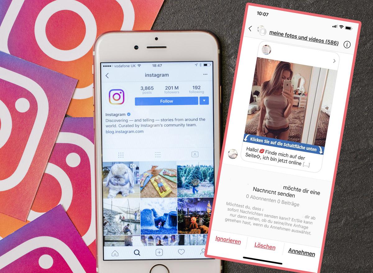 Instagram Gruppen Spam