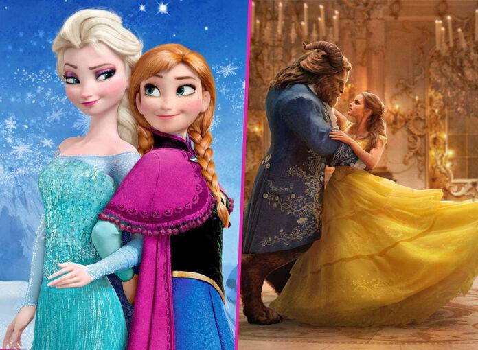 Disney Filmfest Sat1 Die Eiskönigin Schhöne und das Biest
