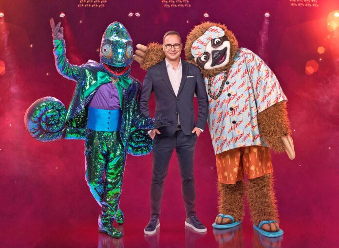 Die ersten The Masked Singer 2020 Kostüme sind Faultier und Chamäleon