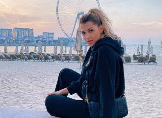 Deutschland Sarah Harrison Urlaub Dubai