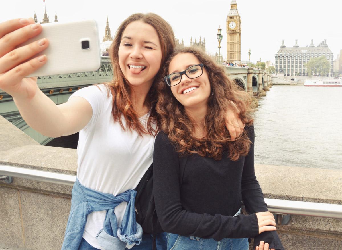 Mit der Freundin nach London reisen, macht Spaß!