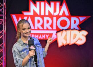 YouTuberin Julia beautx moderiert Ninja Warrior Germany Kids auf RT