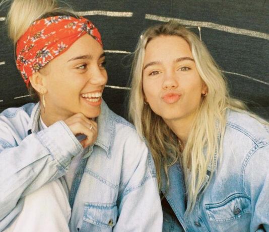 Lisa und Lena lieben Jeans