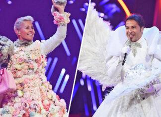 """Sonja Zietlow und Bülent Ceylan in der """"The Masked Singer"""" 2020 Jury"""
