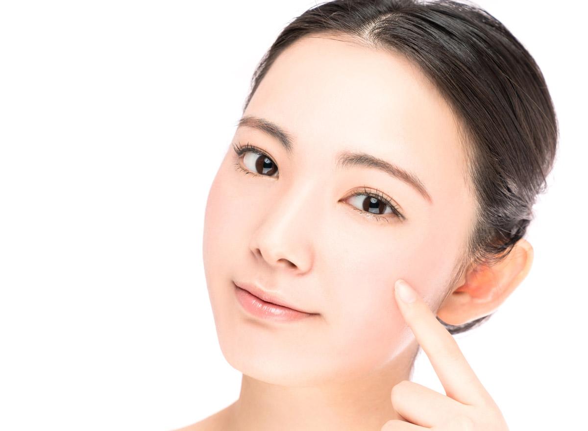 Koreanische Frauen haben sehr oft eine reine, nahezu makellose Haut.