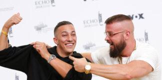 Deutchrapper wie Kollegah und Farid Bang zeigen gerne ihre teuren Rolex-Uhren