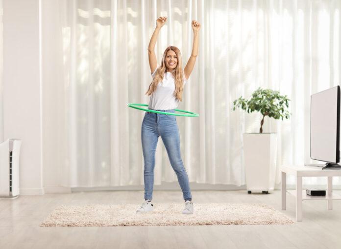 Smart Hula Hoop ist die Vorstufe vom Hula Hoop